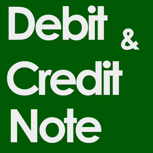 Credit and Debit Note in Tally