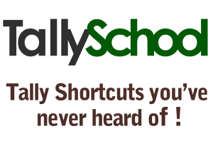 TallySchool-shortcuts