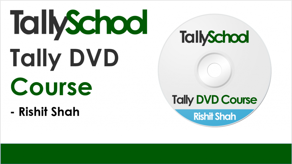 Tallyschool Tally DVD Course