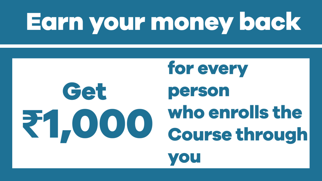 Earn your money back - TallySchool