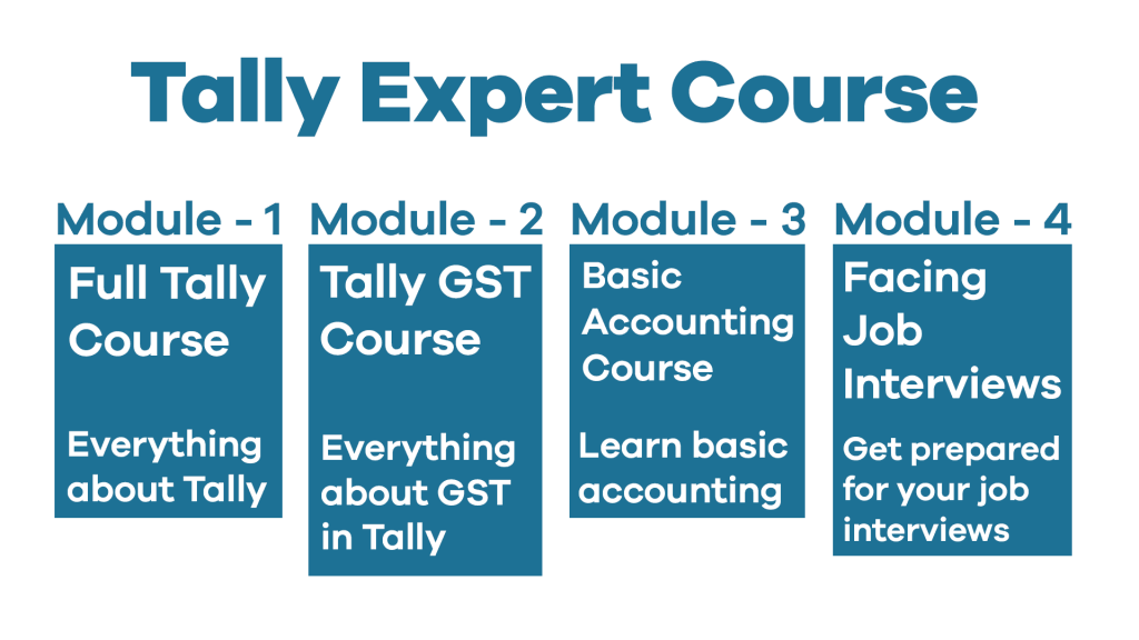 Tally-Expert-Course-Modules