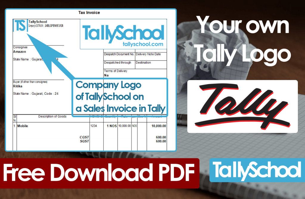 Tally Logo - Easily Printing your Company Logo in Tally on GST Invoices