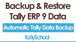 How to Take Backup & Restore Tally ERP 9 Data - Free PDF Download