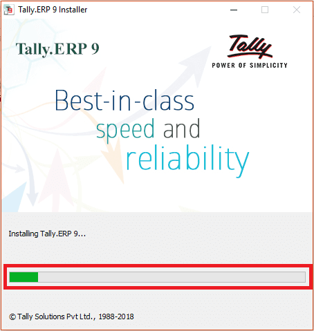 Tally ERP 9 Educational Version Installing